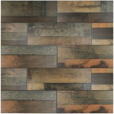 "Lena 7.88"" x 23.63"" Ceramic Wood Tile in Mix"