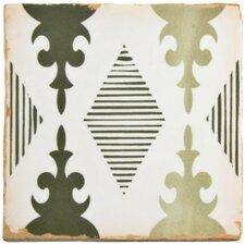 """Arquivo 4.88"""" x 4.88"""" Ceramic Field Tile in Mandir"""