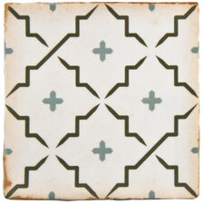 "Arquivo 4.88"" x 4.88"" Ceramic Field Tile in Lattice"