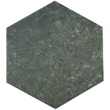 "Transit 9.88"" x 8.63"" Porcelain Floor and Wall Tile in Dark"