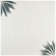 """Tuscano 17.75"""" x 17.75"""" Ceramic Field Tile in Blanco"""