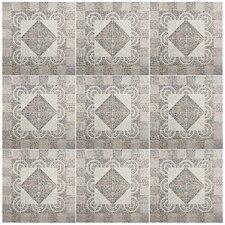 """Denarius 20.25"""" x 20.25"""" Ceramic Field Tile in Beige"""