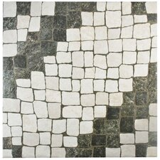 "Molinos 20.25"" x 20.25"" Ceramic Field Tile in Blanco"