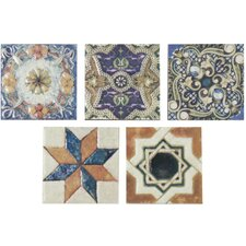 "Obila 2.75"" x 2.75"" Ceramic Trim Wall Tile in Arenal Taco"