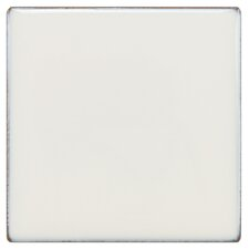 """Essentia 4"""" x 4"""" Porcelain Field Tile in Ivory White"""