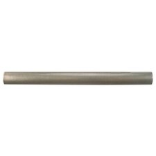"Milton 6"" x 0.63"" Pencil Tile Trim in Brushed Nickel"