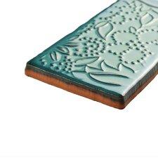 "Antiqua 3"" x 6"" Ceramic Tile in Feelings Lava Verde"