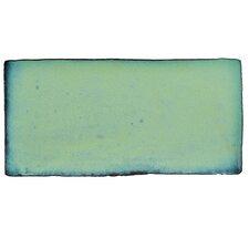 """Antiqua 3"""" x 6"""" Ceramic Tile in Special Lava Verde"""