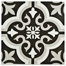 "Lima 7.75"" x 7.75"" Ceramic Field Tile in Classic"