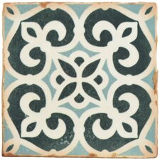 "Arquivo 4.875"" X 4.875"" Ceramic Floor and Wall Tile in Bakula"