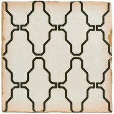 "Arquivo 4.88"" x 4.88"" Ceramic Field Tile in Crochet"
