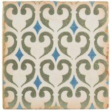 "Arquivo 4.875"" X 4.875"" Ceramic Floor and Wall Tile in Khazana"