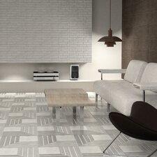 """Mirage 17.75"""" x 17.75"""" Ceramic Field Tile in Gray"""