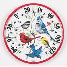 Designer Edition Indoor / Outdoor Songbirds Thermometer