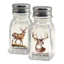 Whitetail Deer Salt and Pepper Shaker