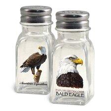 Bald Eagle Salt and Pepper Shaker