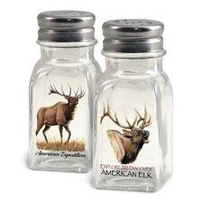 Elk Salt and Pepper Shaker