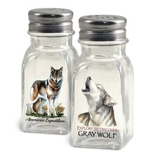 Wolf Salt and Pepper Shaker