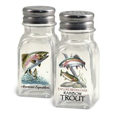 Rainbow Trout Salt and Pepper Shaker