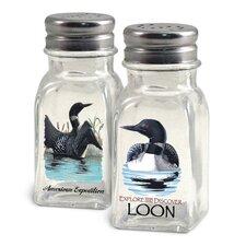 Loon Salt and Pepper Shaker