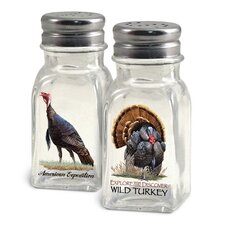 Wild Turkey Salt and Pepper Shaker