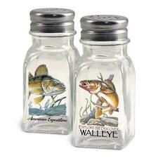 Walleye Salt and Pepper Shaker