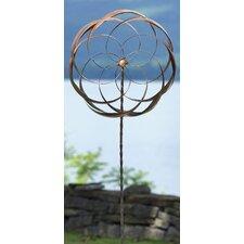 Flower Staked Pinwheel (Set of 2)