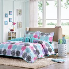 Carly 3 Piece Coverlet Set