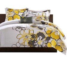 Allison Comforter Set in Yellow