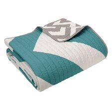 Mizone Libra Quilted Cotton Throw