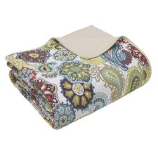 Mizone Tamil Quilted Cotton Throw Blanket