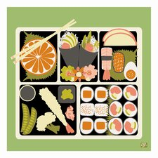 Pop Japan Bento Graphic Art