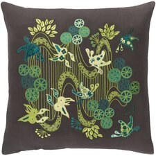 Kismet Chinese River Throw Pillow