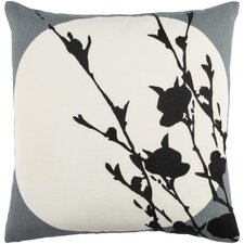 Flying Colors Harvest Moon Linen Throw Pillow