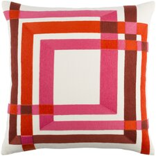 Kismet Color Form Throw Pillow