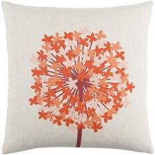 Kismet Agapanthus Linen Throw Pillow