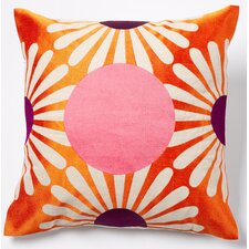 Dot Linen Throw Pillow