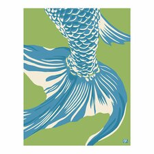 Pop Japan Japanese Fishtail Painting Print