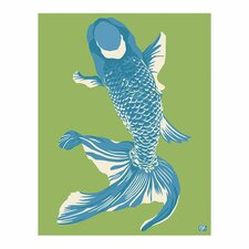 Pop Japan Japanese Wholefish Painting Print