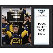 NASCAR 2012 Daytona 500 Champion Sublimated 'I WAS THERE' Framed Memorabilia