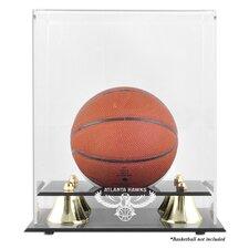 NBA Golden Classic Logo Mini Basketball Display Case
