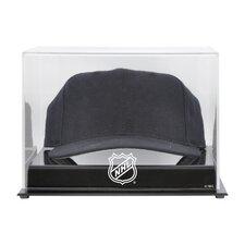 NHL Acrylic Cap Logo Display Case