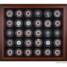 30 Hockey Puck Display Case