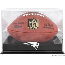 NFL Football Logo Display Case