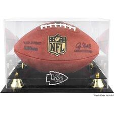 NFL Classic Football Logo Display Case