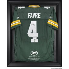 NFL Brett Favre 421st TD Record Breaker Jersey Display Case