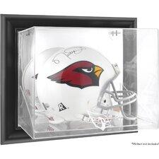 NFL Wall Mounted Helmet Logo Display Case