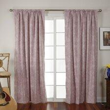 Brush Single Curtain Panel