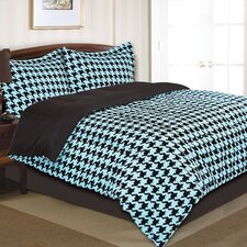 Houndstooth Comforter Set