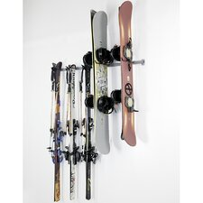3 Ski and 4 Snowboard Rack